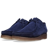 Padmore And Barnes P204 The Original Dark Navy Suede