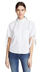 Ayr The Pop Tart Button Down White