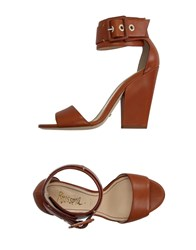 Jerome C. Rousseau Sandals Brown