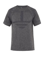 Lndr Iron Technical Performance T Shirt Grey