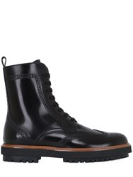 Tod's Brogue Brushed Leather Boots