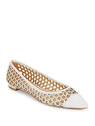 Enzo Angiolini Arabella Studded Point Toe Flats