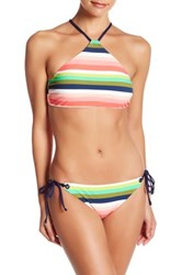 Sperry Shaved Iced High Neck Bikini Top Multi