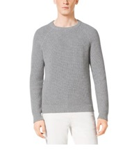 Michael Kors Wool And Cashmere Shaker Pullover