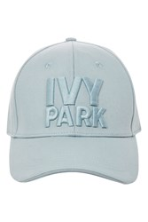 Ivy Park Logo Baseball Cap By Pale Blue
