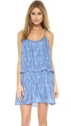 St. Roche Prudence Dress Blue Jay With Silver