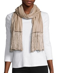 Lauren Ralph Lauren Long Fringed Scarf Hayfield