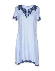 Vivis Nightgowns Sky Blue