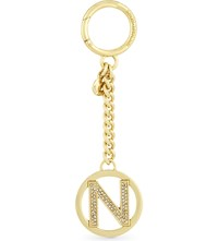 Michael Michael Kors Letter N 18Ct Gold Pave Charm