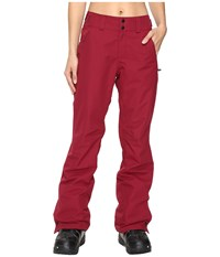 O'neill Glamour Pants Passion Red Women's Casual Pants