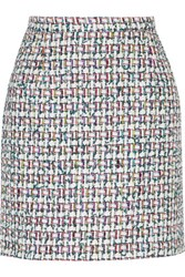 Thom Browne Tweed Mini Skirt Multi