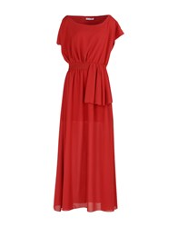 Angela Mele Milano Dresses Long Dresses Women Red