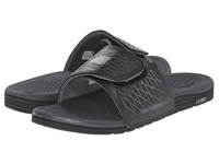 New Balance Cush Slide Black Grey Men's Sandals