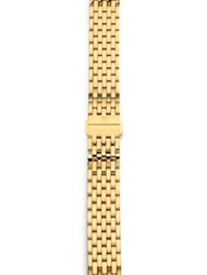 Michele Serein 18K Goldplated Stainless Steel Watch Bracelet