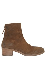 Marsell 40Mm Suede Ankle Boots