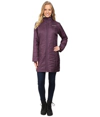 Columbia Mighty Lite Hooded Jacket Dusty Purple Women's Coat
