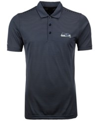 Antigua Men's Seattle Seahawks Quest Polo Shirt Navy White