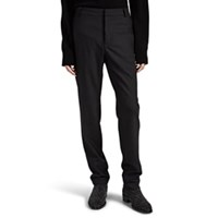 Balmain Wool Slim Trousers Black