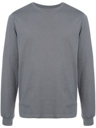 Cottweiler Cave Back Print Sweatshirt Grey