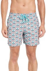 Vilebrequin Men's Vilbrequin Anchor Embroidered Swim Trunks