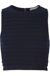 Alice Olivia Knitted Top Blue