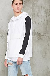 Forever 21 Contrast Hooded Anorack