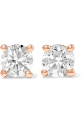 Anita Ko 18 Karat Gold Diamond Earrings Rose Gold