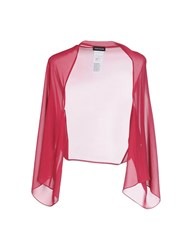 Diana Gallesi Topwear Shrugs Women Fuchsia