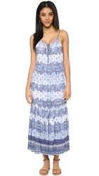 Somedays Lovin Open Eyes Tiered Maxi Dress Multi
