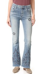 Citizens Of Humanity Fleetwood Cutoff Flare Jeans Miramar