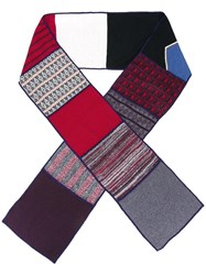 See By Chloe Patchwork Scarf