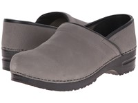 Sanita Professional Oil Mens Grey Men's Clog Shoes Gray