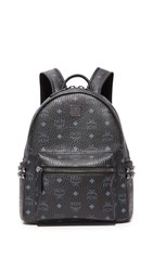 Mcm Small Backpack Black