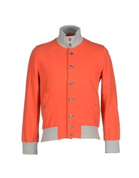 Capobianco Coats And Jackets Jackets Men Orange