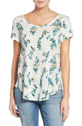Lucky Brand Women's Floral Vines Tee
