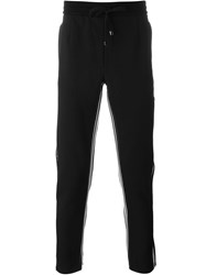 Dolce And Gabbana Piped Track Pants Black