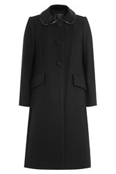 Marc Jacobs Virgin Wool Coat Black