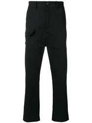 Damir Doma Straight Leg Trousers Black