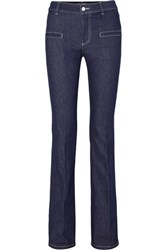 Altuzarra Serge Mid Rise Flared Jeans Navy