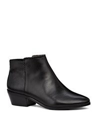 Jack Rogers Bailee Faux Leather Ankle Boots Black