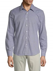 Hyden Yoo Gingham Cotton Button Down Shirt Multi
