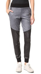 Michi Moto Sweatpants Grey Black