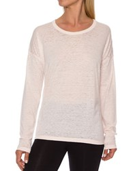 Betsey Johnson Long Sleeve Pullover Pink