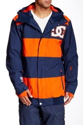 Dc Overdrive Snow Jacket Blue