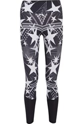 Bodyism I Am Starry Printed Stretch Jersey Leggings Black