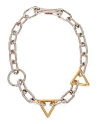Alexander Wang Necklaces Silver