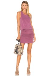 Sundry Slub Sleeveless Dress Pink