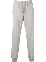 Eleventy Tapered Track Trousers Grey