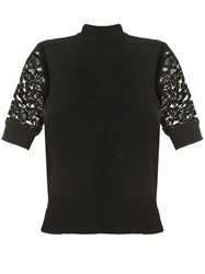 Goen.J Lace Embroidered Crochet Top 60