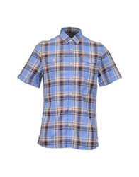 Firetrap Short Sleeve Shirts Blue